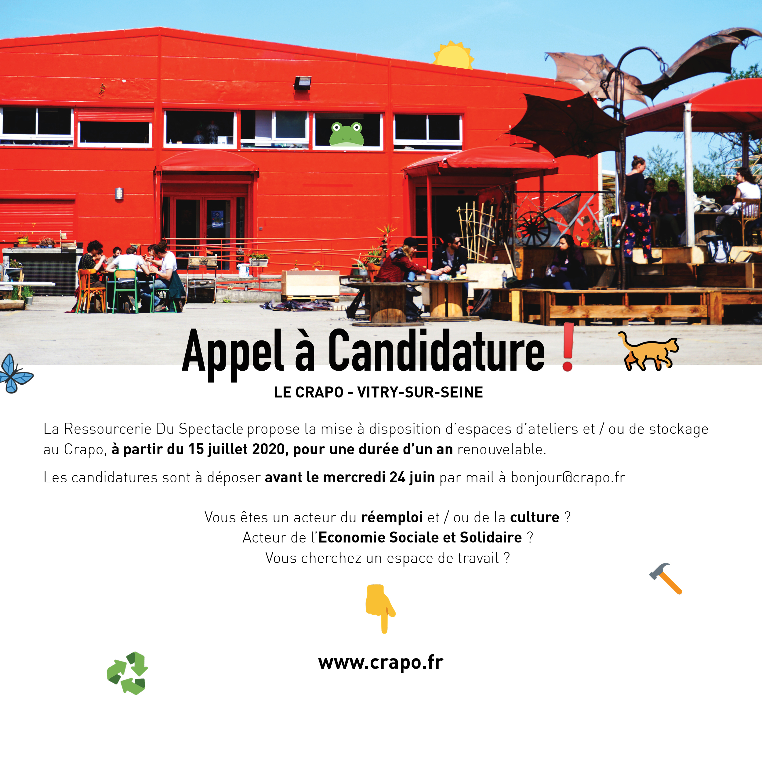 Appel à Candidature !