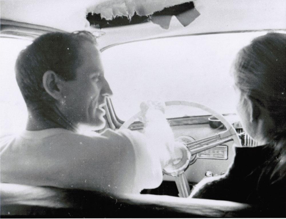 Neal Cassady and his then girlfriend Anne Murphy, circa 1963