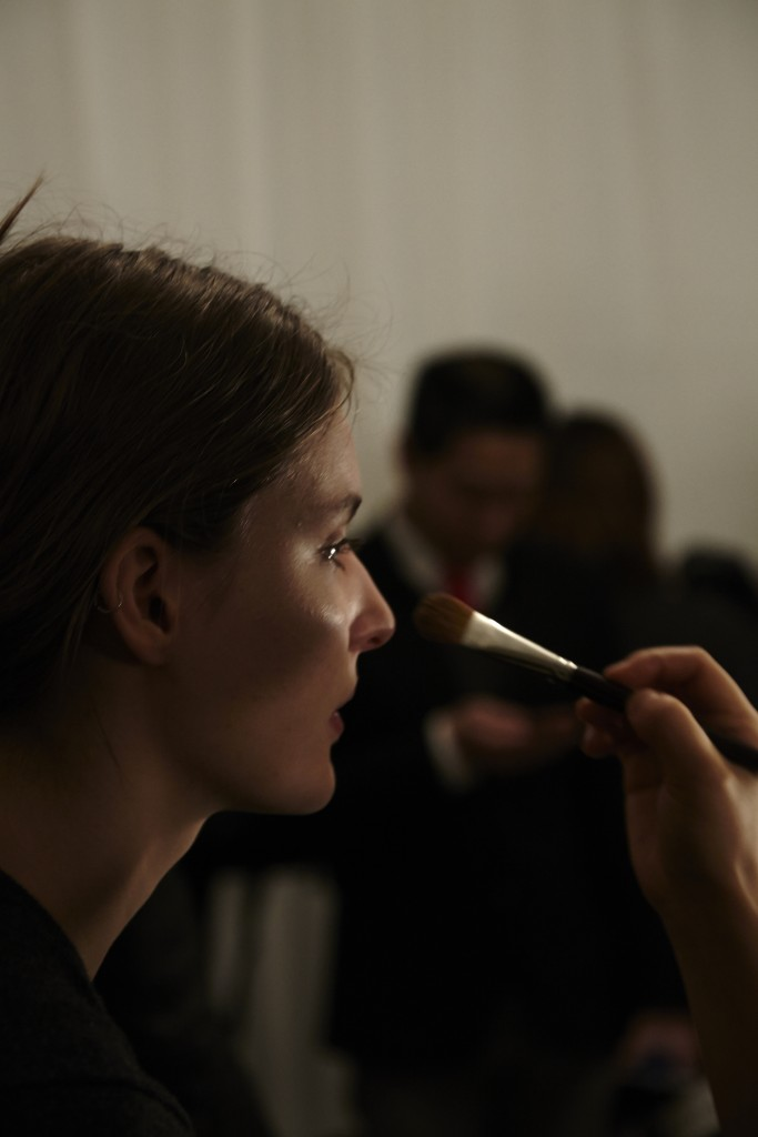 MODEL FALL WINTER 2015 NEW YORK FASHION WEEK CRASH MAGAZINE PARIS BACKSTAGE TYLER NEVITT