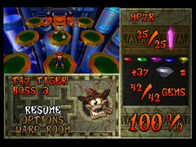 Crash Bandicoot 2 Cortex Strikes Back PAL Crash Mania