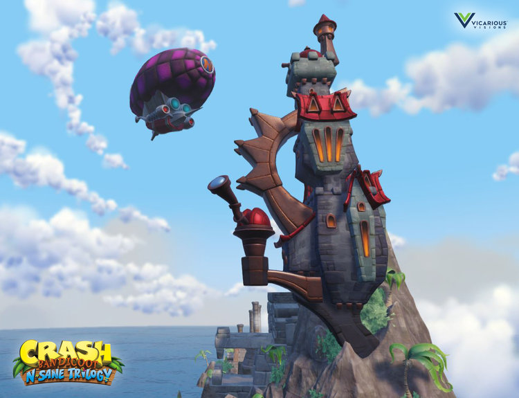 Crash Bandicoot N Sane Trilogy Artwork Crash Mania