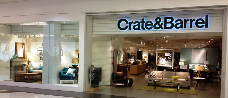 Furniture Store Edmonton  AB   Southgate Mall   Crate and Barrel