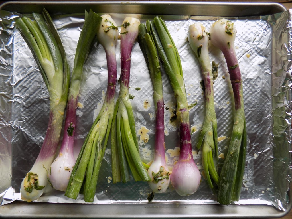 crate cooking spring seasonal recipes spring onion roasted basic simple