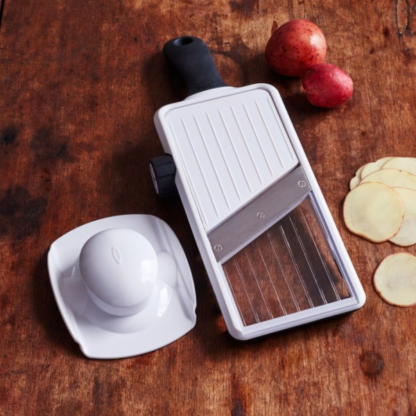 crate cooking simple basic recipes ingredients my favorite products shop Sur La Table OXO Mandoline Slicer Handheld