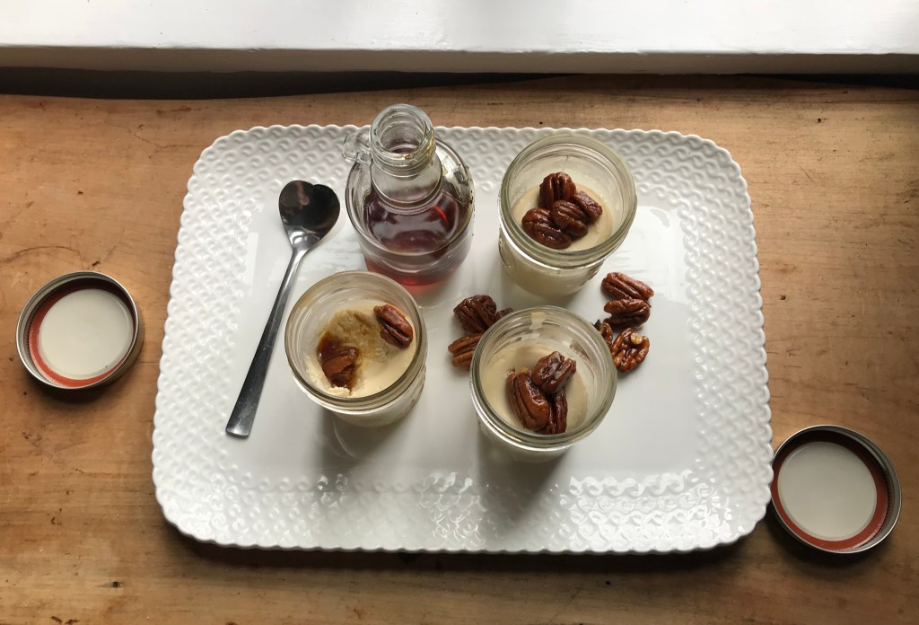 Crate Cooking Fall Autumn appetizers Easy Basic Simple Recipes Ingredients Maple Cheesecakes Candied Pecans