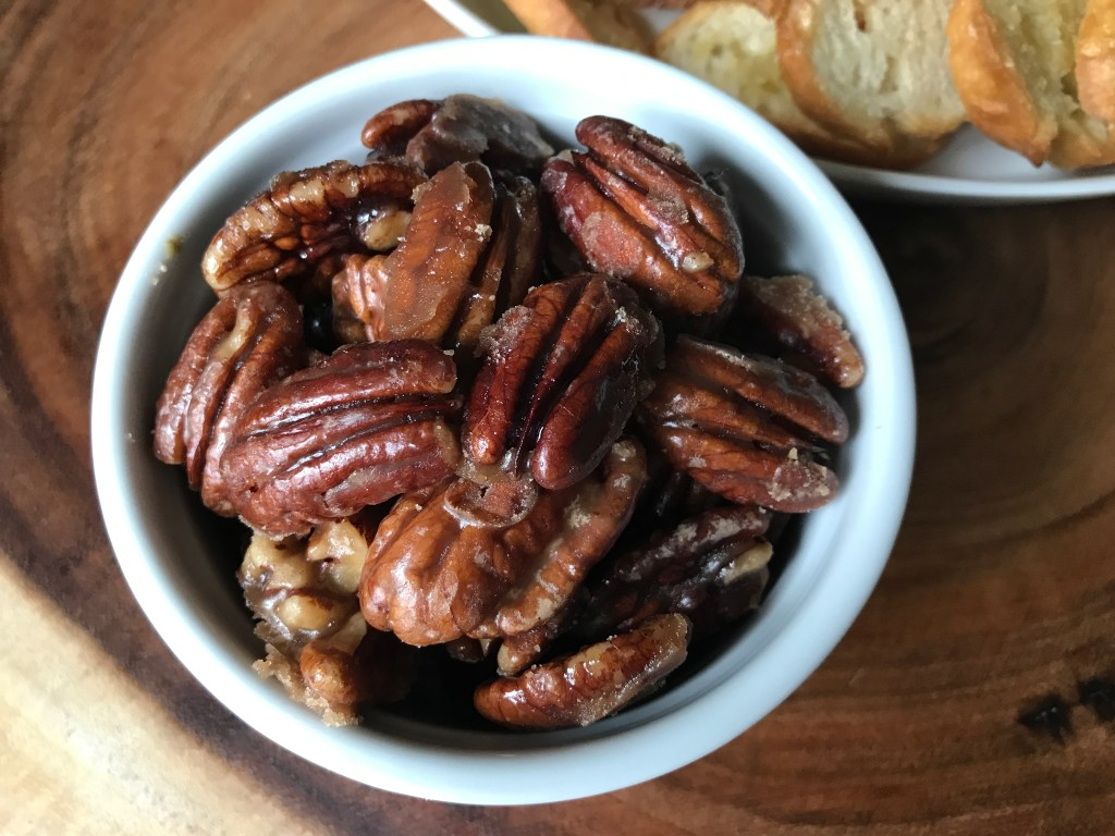 Crate Cooking Fall Autumn appetizers Easy Basic Simple Recipes Ingredients Seasonal roasted maple candied pecans nuts