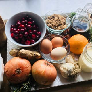 Crate Cooking Fall Autumn Easy Basic Simple Recipes Ingredients Thanksgiving Hosting the Holidays Turkey Cranberries