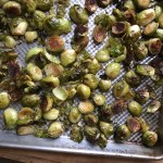 ROASTED GREMOLATA BRUSSELS SPROUTS