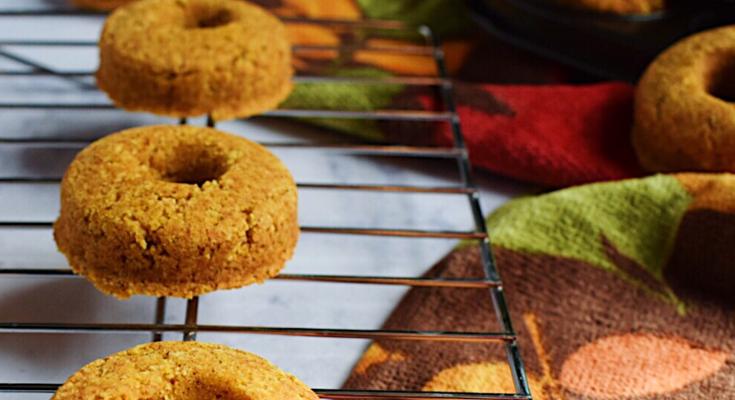 Pumpkin Spice Mini Donuts- Gluten Free
