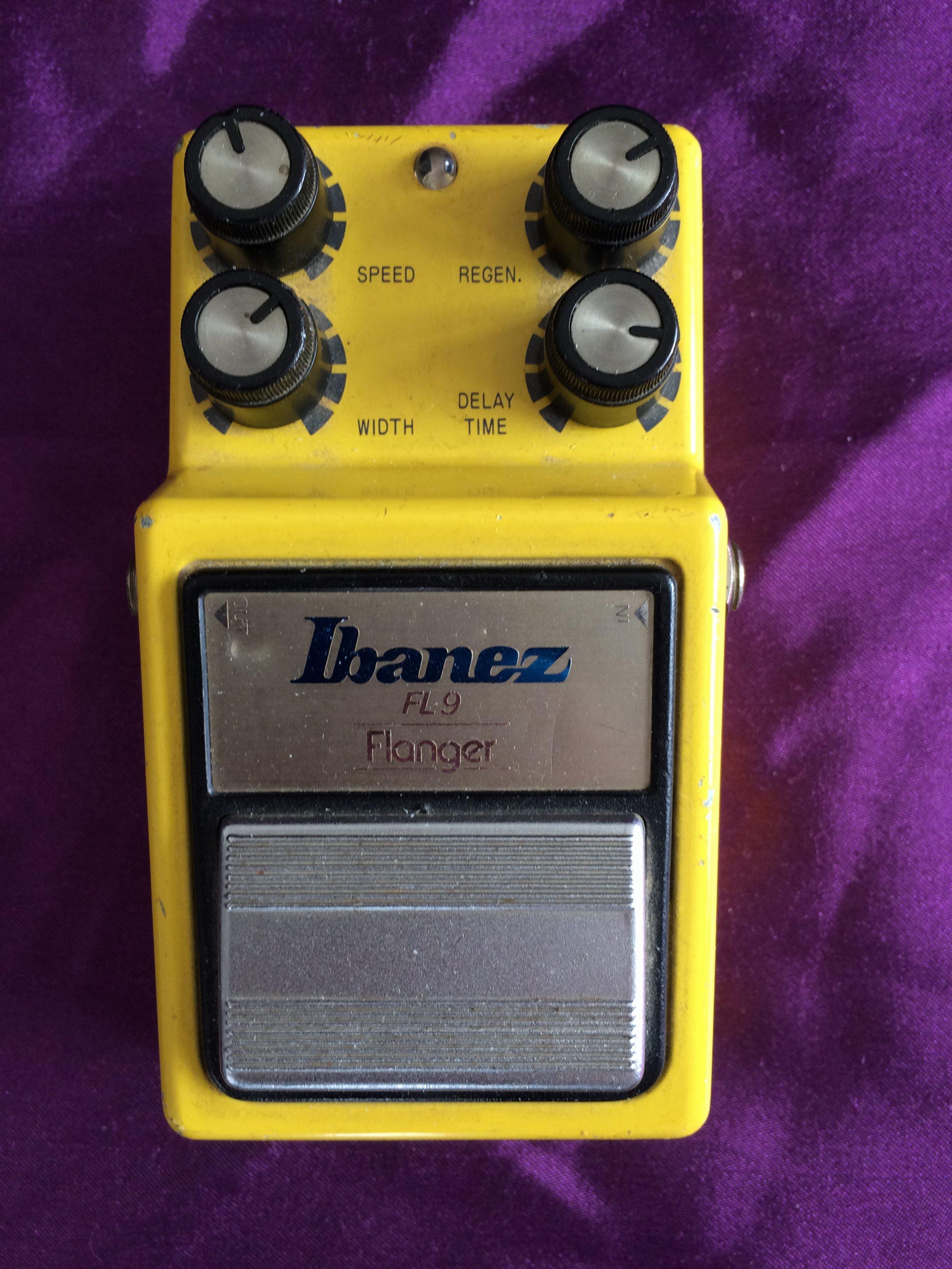 1982 Ibanez FL9 Flanger