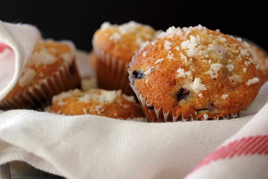 Award Winning Blueberry Muffins