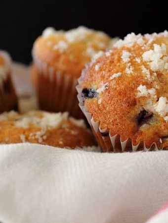 Award Winning Blueberry Muffins. Bake some of these up for your family and friends, and blow them away!   cravethegood.com