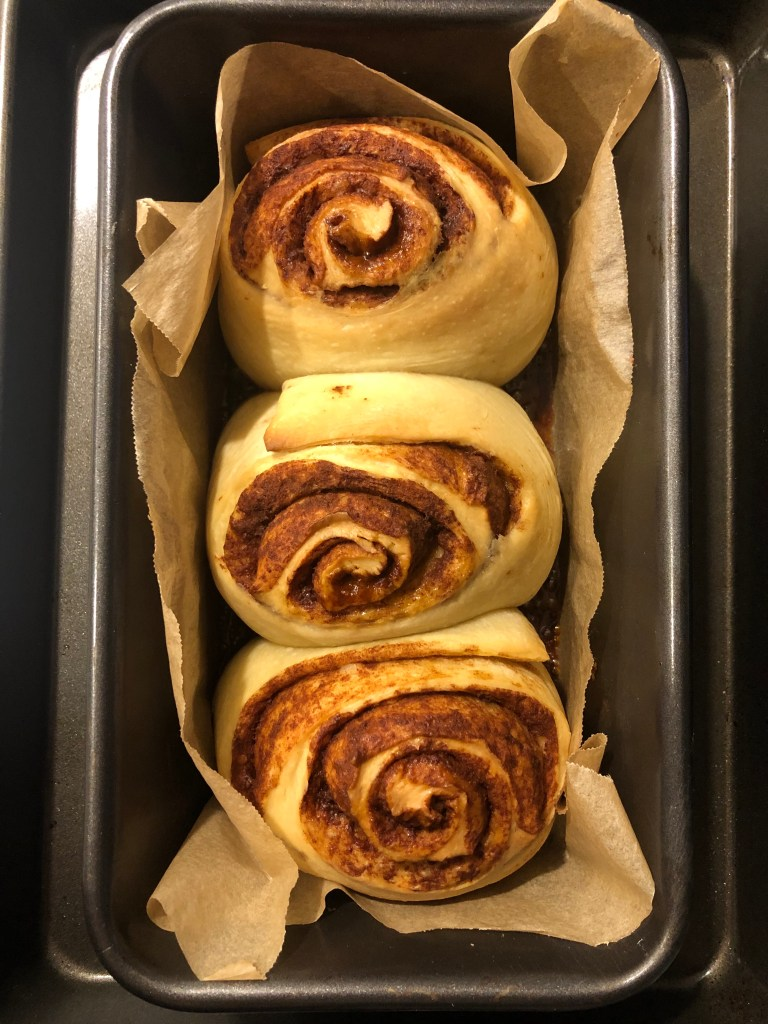 overnight sourdough cinnamon rolls
