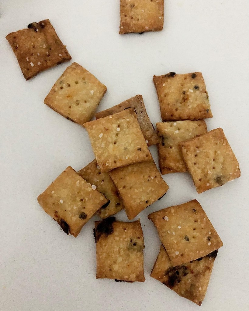 Sourdough Discard Crackers