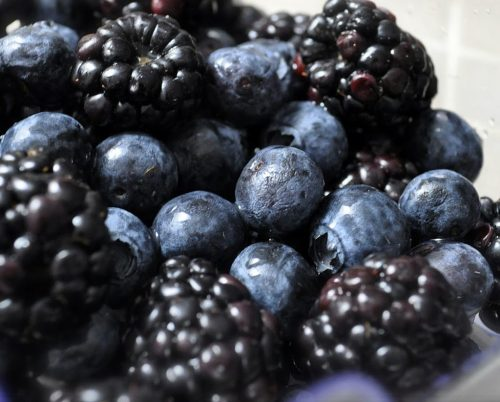blueberries-and-blackberries