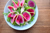 AccordianCut Spiralized Watermelon Radishes-019