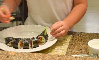 Kid's Sushi Class 7.25.15-069