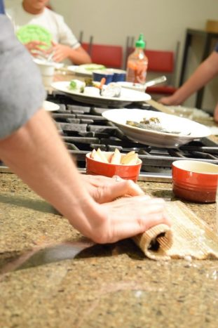Kid's Sushi Class 7.25.15-091
