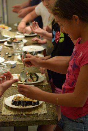 Kid's Sushi Class 7.25.15-122