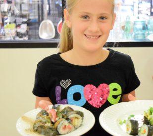 Kid's Sushi Class 7.25.15-142