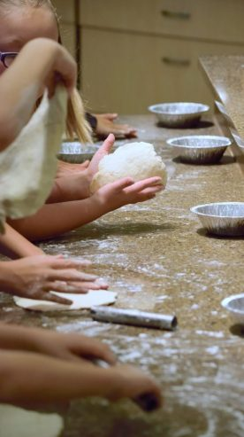 Kid's Pie Making Class 9.19.15-191