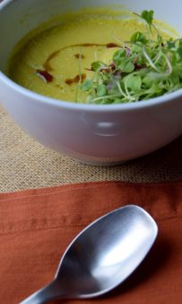Creamy Cardamom Lemon Soup-003