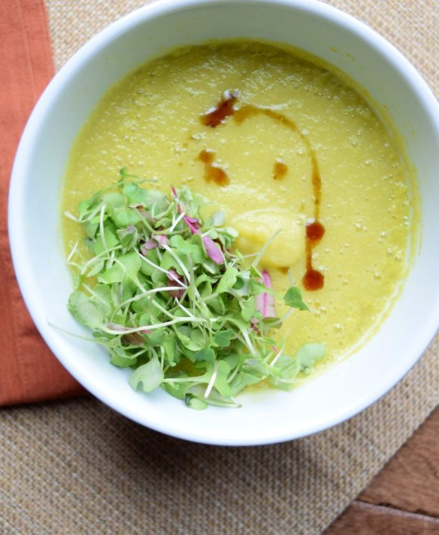 Creamy Cardamom Lemon Soup-007
