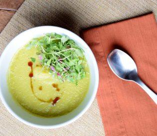 Creamy Cardamom Lemon Soup-008