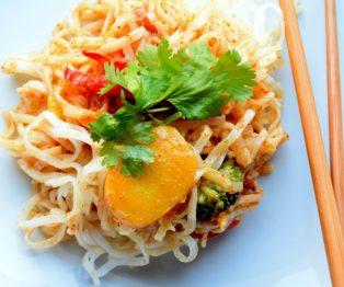 Thai Peanut Noodles-007