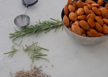 Rosemary Lavender Candied Almonds