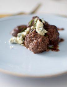 Rosemary Wine Meatballs and Mushrooms-005