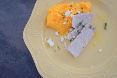 Lemon Carrot Mash and Roasted Pork Loin-009