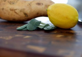 Lemon Sage Baked Gnocchi
