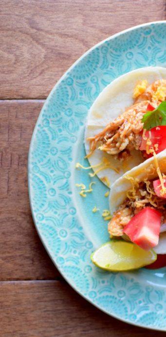 Peanut Butter Chicken Tacos-007