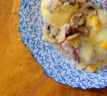 Lemon Swiss Burger Mushroom Melt-010