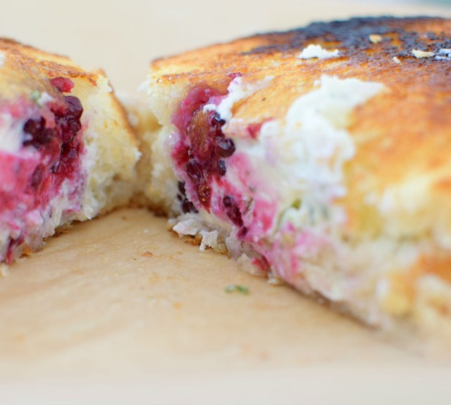 Blackberry Serrano Sourdough Grilled Cheese Sandwich-009