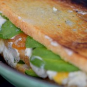 Chevre, Avocado, & Salted Honey Cantaloupe Jam Grilled Cheese-006