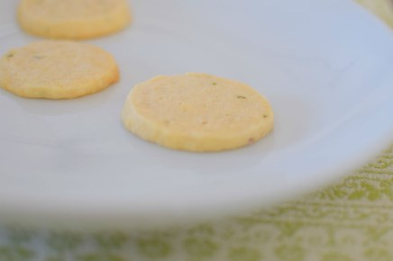 Lemon Rosemary Shortbread Cookie Coins-012