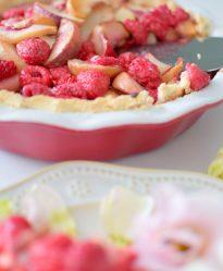 Raspberry Rose Peach Pie-028