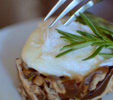 Wild Mushroom Asparagus Poached Egg-009