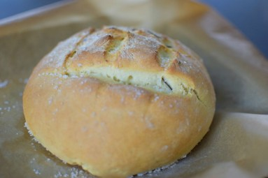 Salted Rosemary Olive Oil Bread-004