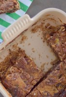 Chocolate Bourbon Pecan Pie Bars-020
