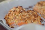 Peanut Horseradish Macadamia Crusted Salmon-005