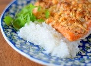 Peanut Horseradish Macadamia Crusted Salmon-010