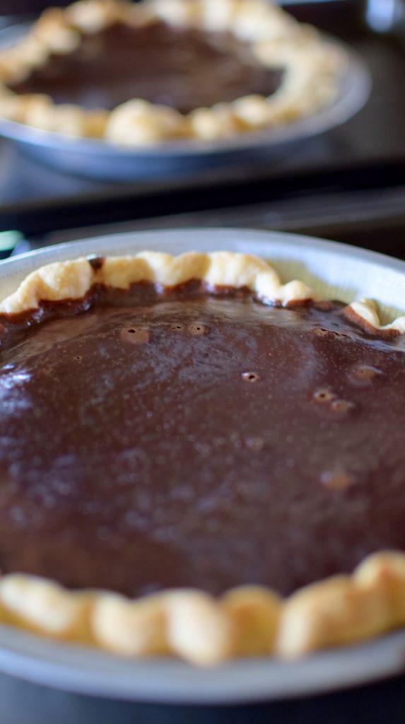 Chocolate Mint Julep Pie-017