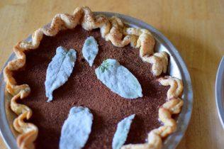 Chocolate Mint Julep Pie-019