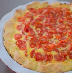 Lime Roasted Tomato Quiche-013