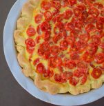 Lime Roasted Tomato Quiche-015