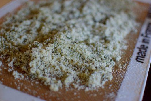 Sugared Mint Shortbread