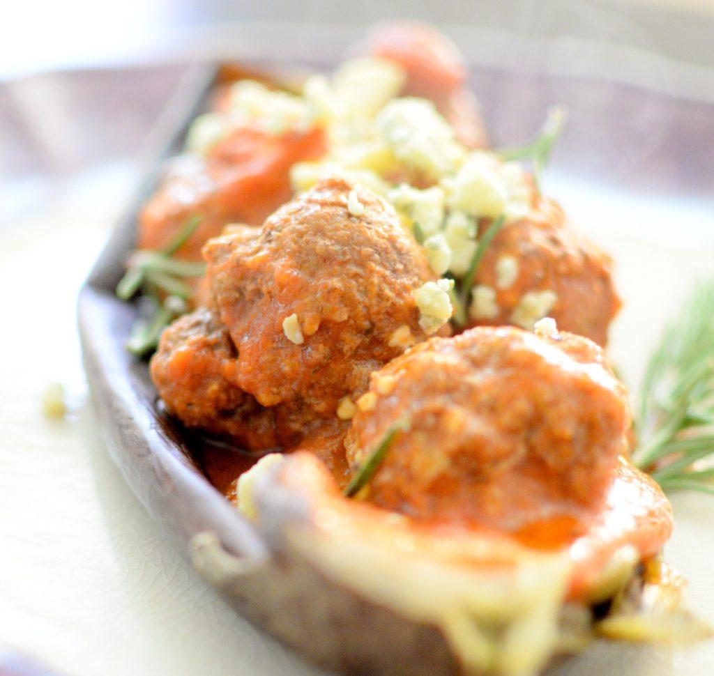 Eggplant & Blue Cheese Meatballs | Recipe | Craving4More